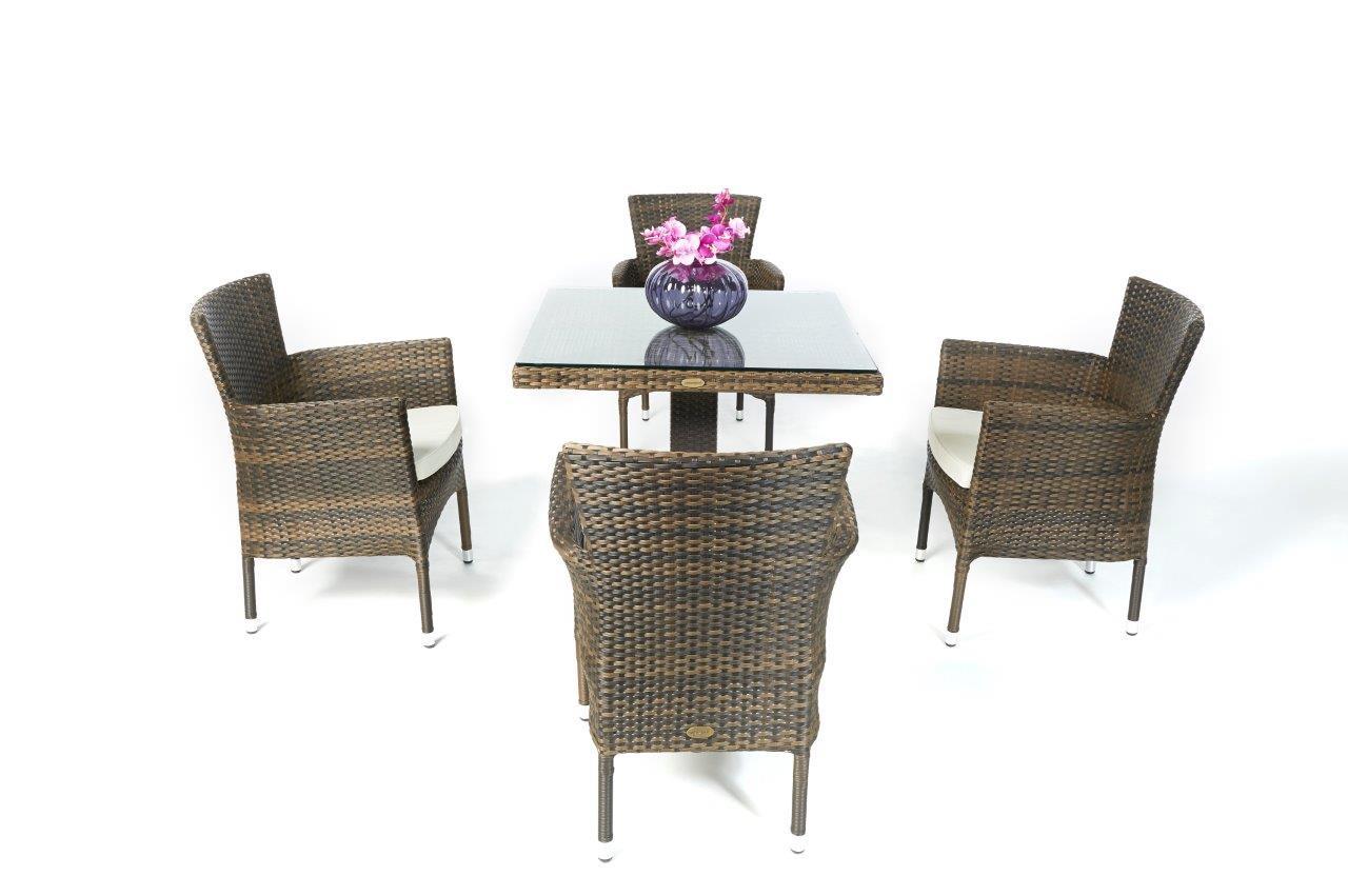 rattan m bel gartentisch balcony und st hle california mix. Black Bedroom Furniture Sets. Home Design Ideas