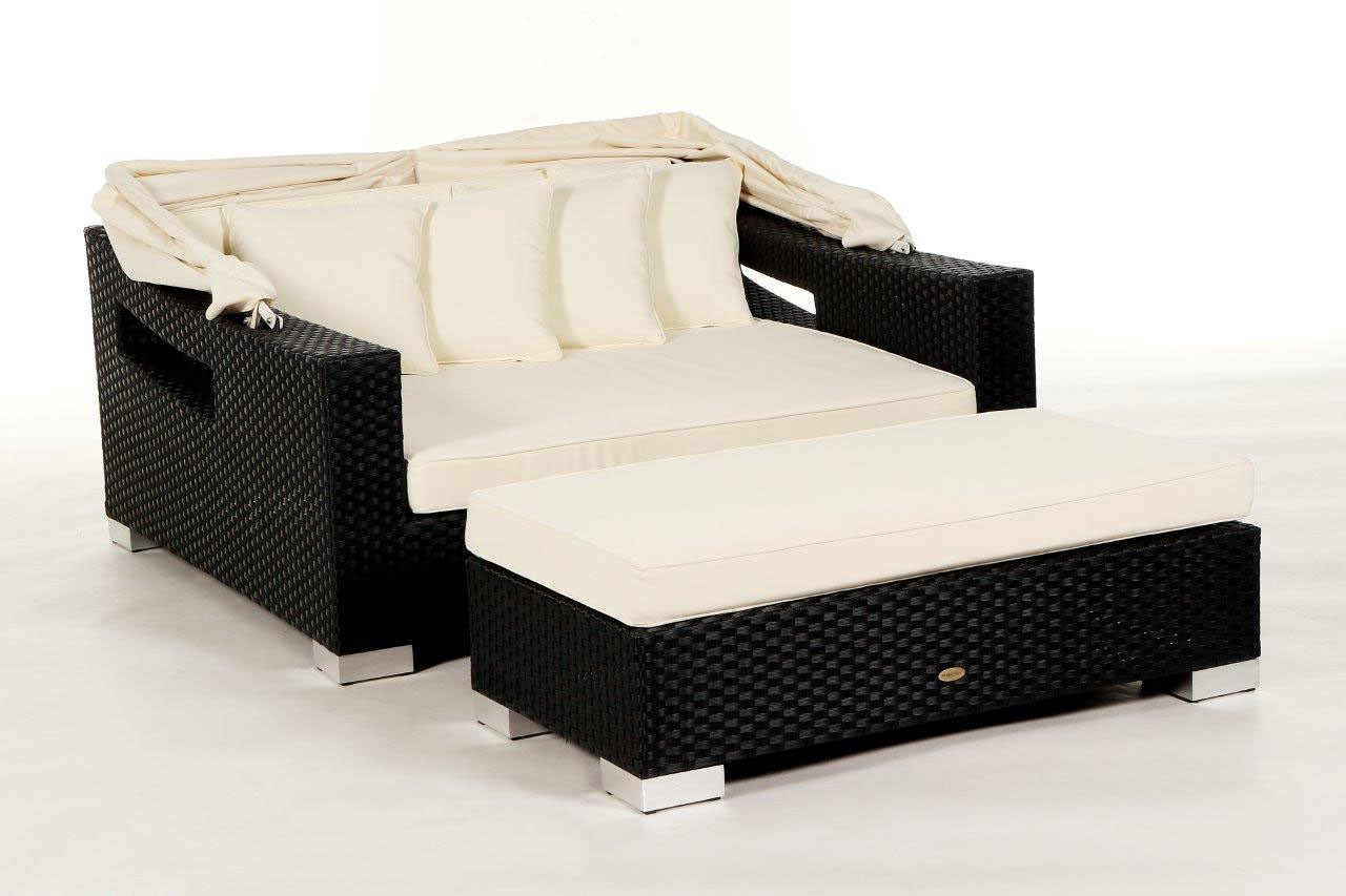 beach chair die rattan sonnenliege f r ihren garten. Black Bedroom Furniture Sets. Home Design Ideas