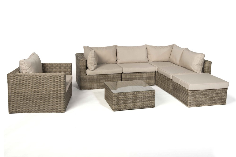 gartenmobel outlet rattan interessante