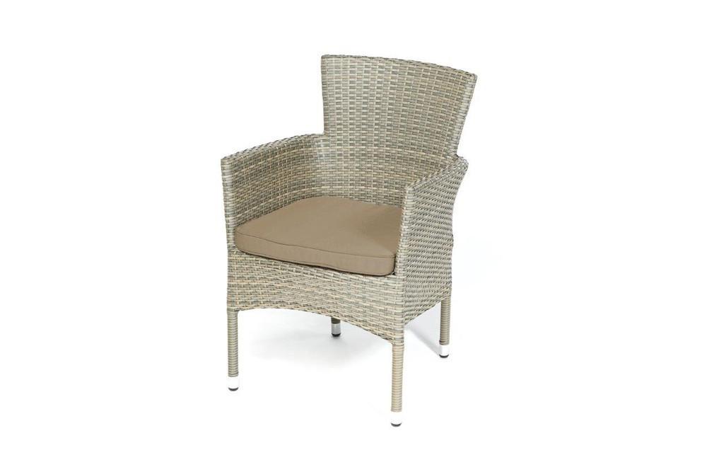 rattan gartentisch und st hle california dolphin grey. Black Bedroom Furniture Sets. Home Design Ideas