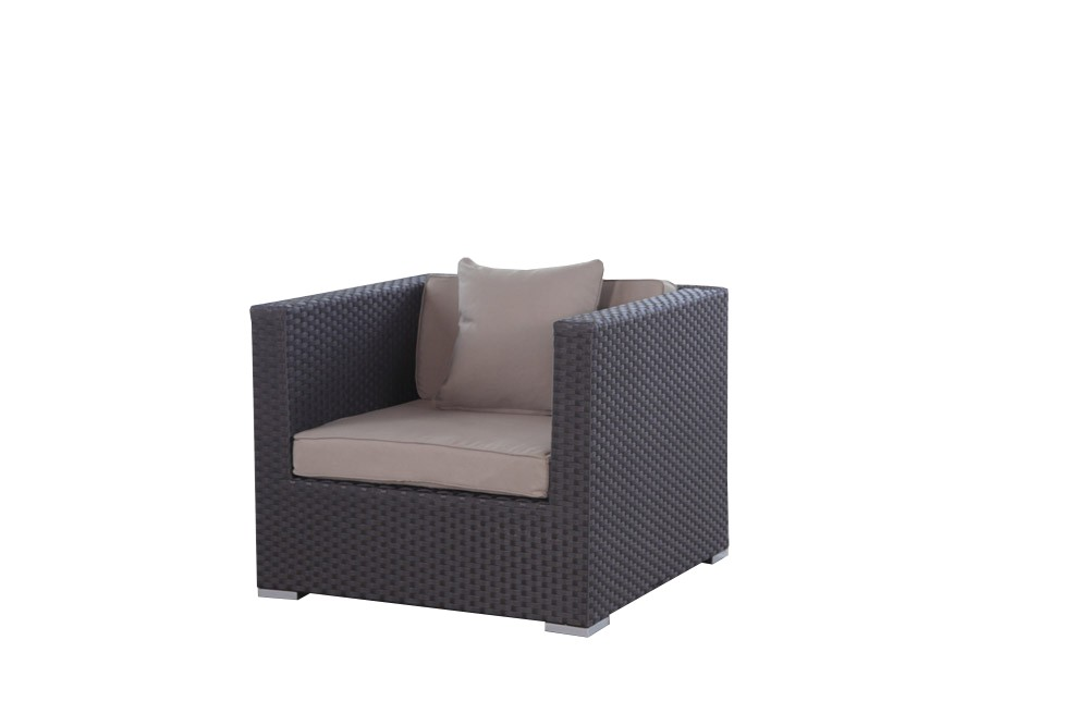 rattan lounge tranquillo braun bequemes gartenm bel set. Black Bedroom Furniture Sets. Home Design Ideas