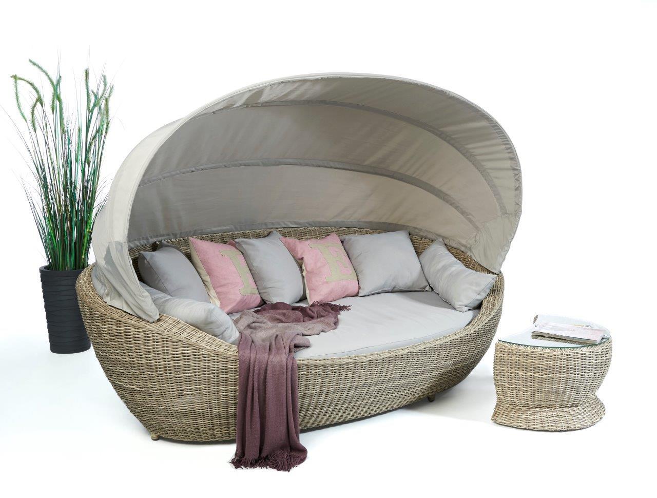 rattan sofa sonnenliege dreamland wundersch nes gartenm bel. Black Bedroom Furniture Sets. Home Design Ideas
