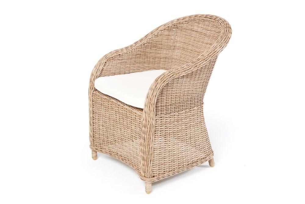 holztisch set romantik mit 4 rattan st hlen. Black Bedroom Furniture Sets. Home Design Ideas