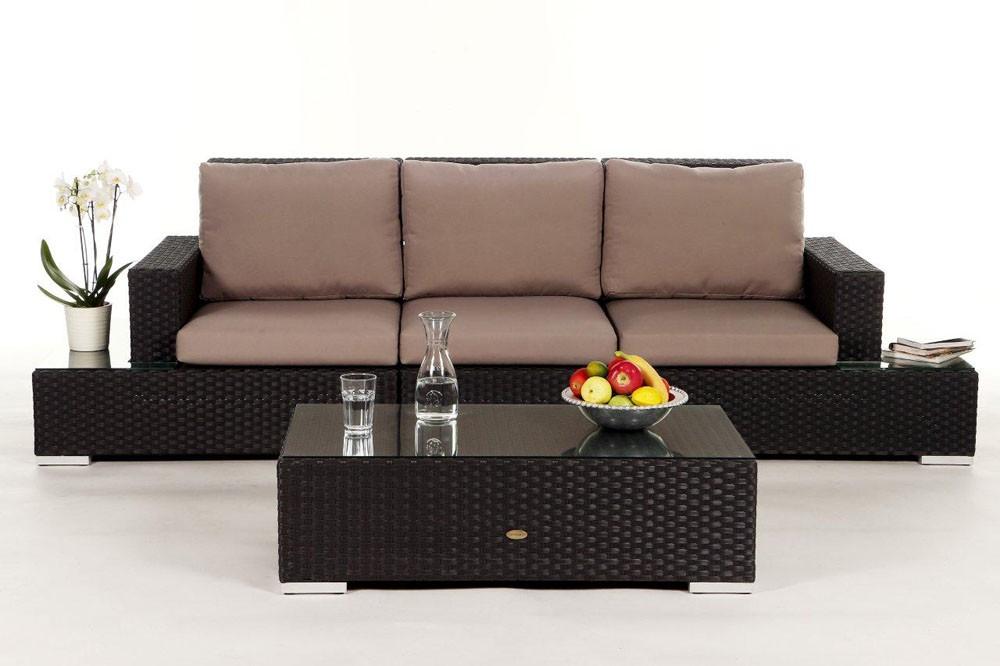 gartenmobel rattan mit bank interessante. Black Bedroom Furniture Sets. Home Design Ideas