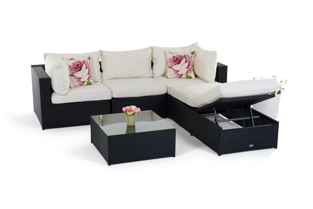 rattan gartenm bel lounge neuesten design. Black Bedroom Furniture Sets. Home Design Ideas