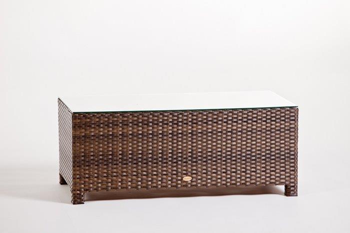 rattan gartenm bel lounge luxury deluxe 3er sofa braun. Black Bedroom Furniture Sets. Home Design Ideas