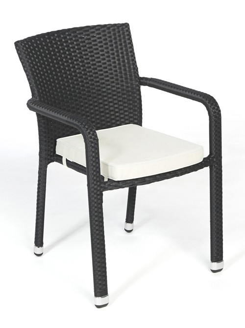 orlando rattan stuhl rattan gartenm bel polsterbez ge verschiedene farben. Black Bedroom Furniture Sets. Home Design Ideas
