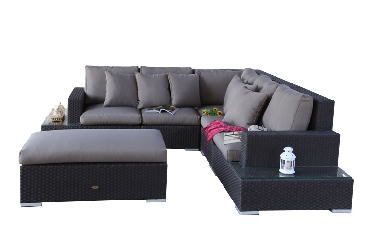 manhattan rattan lounge. Black Bedroom Furniture Sets. Home Design Ideas