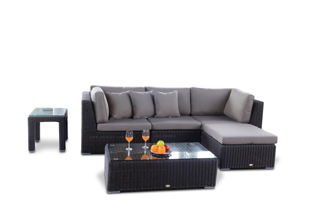 rattan gartenm bel lounge laguna braun. Black Bedroom Furniture Sets. Home Design Ideas