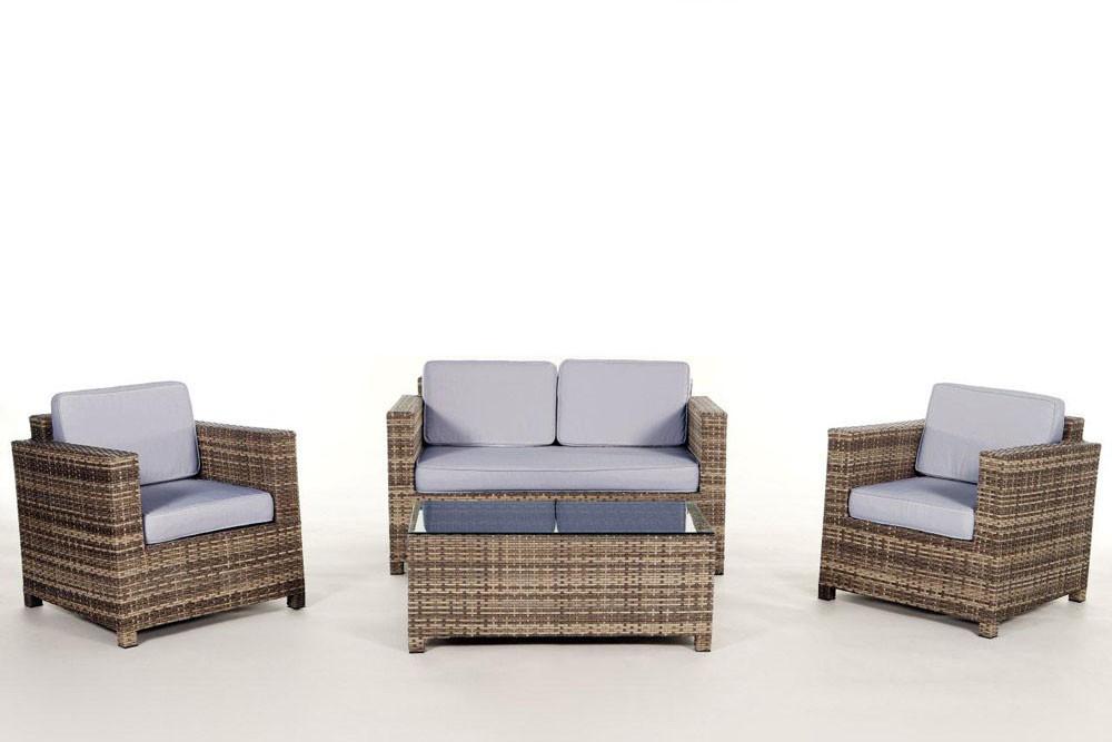 rattan gartenm bel lounge sitzgruppe luxury natural. Black Bedroom Furniture Sets. Home Design Ideas