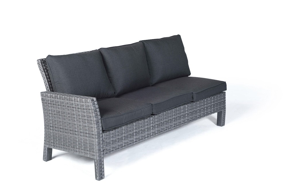 manchester rattan lounge gartenm bel tisch set mix grau. Black Bedroom Furniture Sets. Home Design Ideas