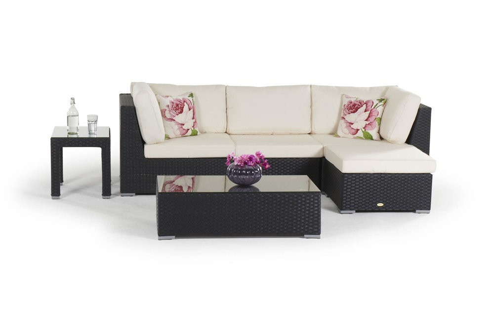 rattan lounge m bel schwarz neuesten. Black Bedroom Furniture Sets. Home Design Ideas