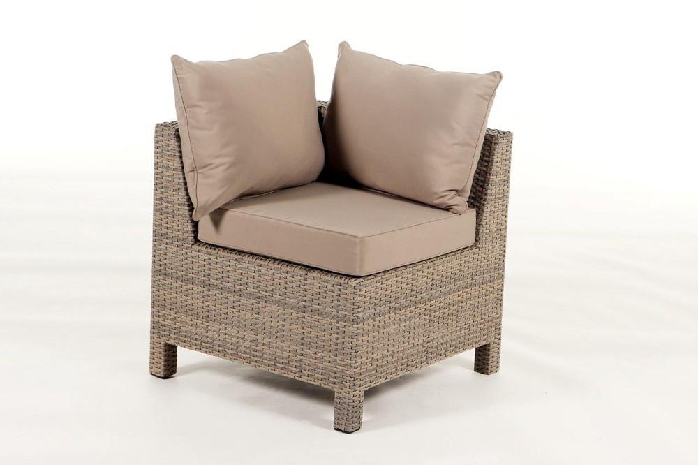 Pandora Rattan Lounge Sandstorm  Ein 8teiliges Gartenmöbel Set