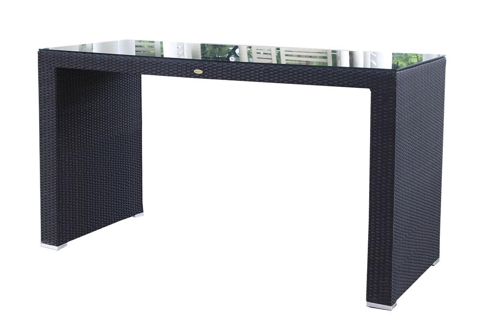 rattan gartenm bel rattan bar dining schwarz. Black Bedroom Furniture Sets. Home Design Ideas