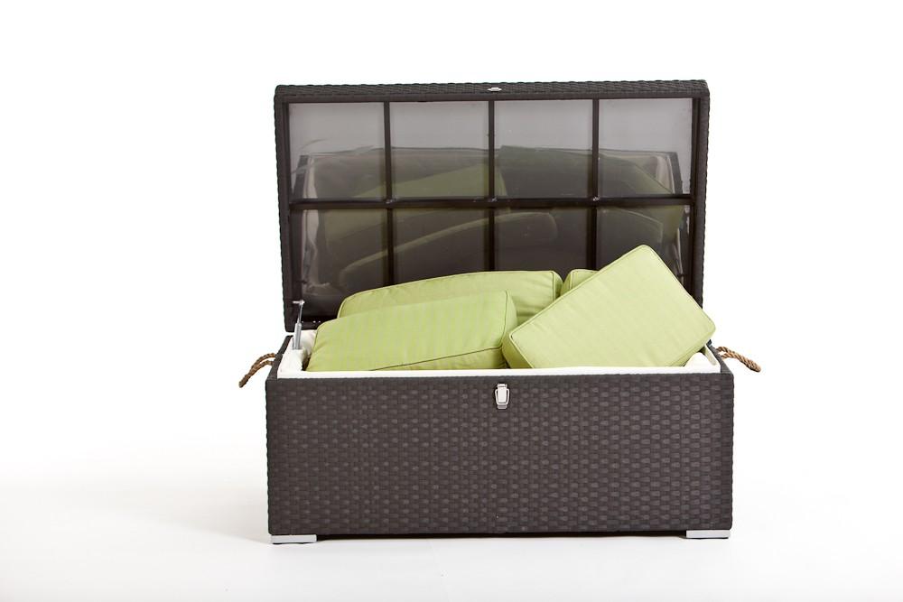 rattan gartenm bel rattan kissenbox pillowbox klein braun. Black Bedroom Furniture Sets. Home Design Ideas