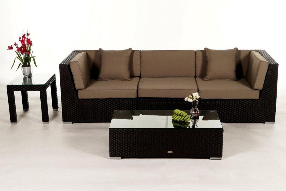 das gartenm bel set bellaria lounge f r terrasse und. Black Bedroom Furniture Sets. Home Design Ideas