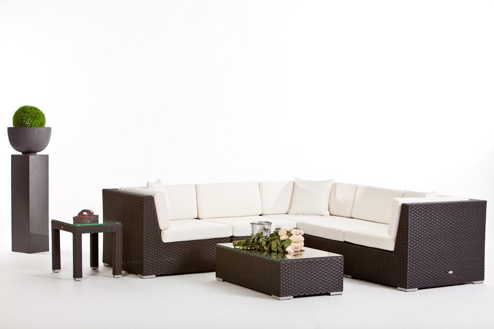 Rattan Lounge individuell zusammenstellen - Gartenmöbel