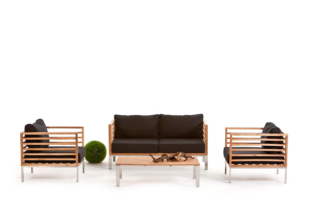 Rattan lounge rio for Lounge gartenmobel rattan
