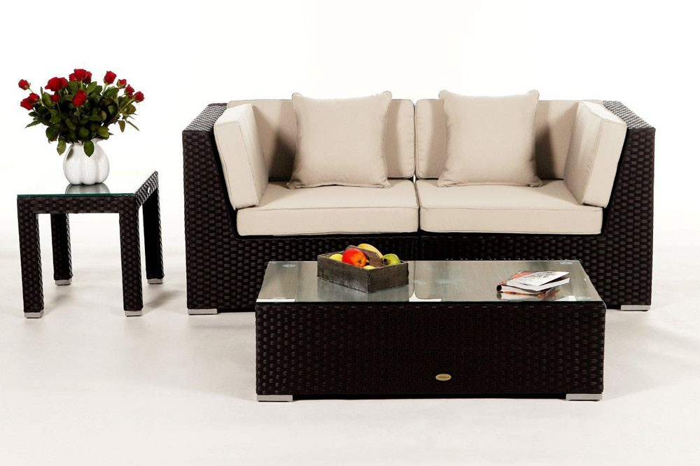 rattan lounge sunrise das gartenm bel set f r terrasse On loungemobel aus rattan