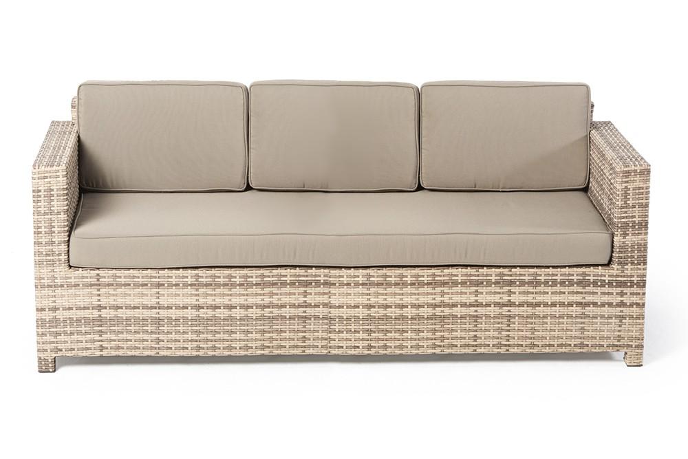 rattan gartenm bel westham lounge natural gartensofa set. Black Bedroom Furniture Sets. Home Design Ideas