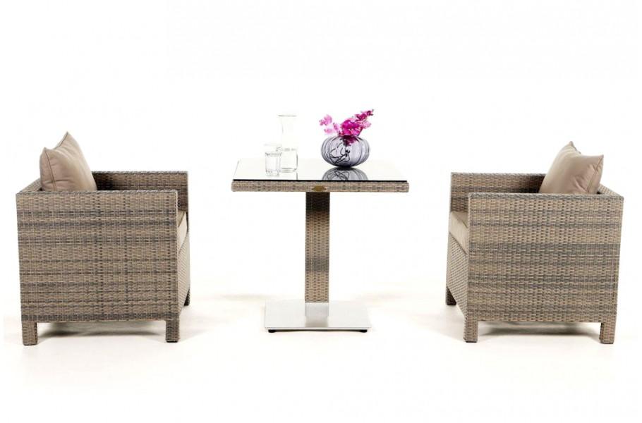Rattan Mobel Garten Tisch Stuhle Sessel Balcony Sandstorm
