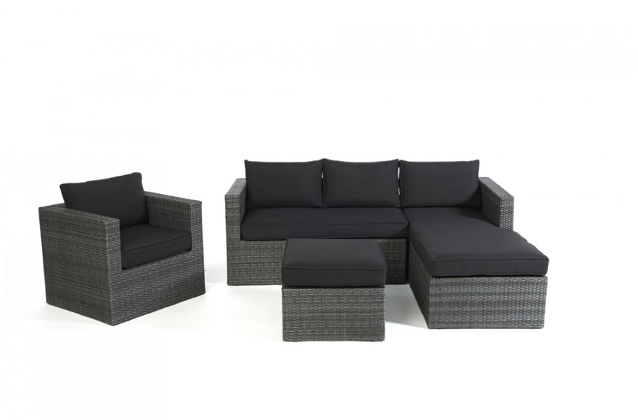 gartenm bel polster f r coffee table f r brooklyn rattan. Black Bedroom Furniture Sets. Home Design Ideas