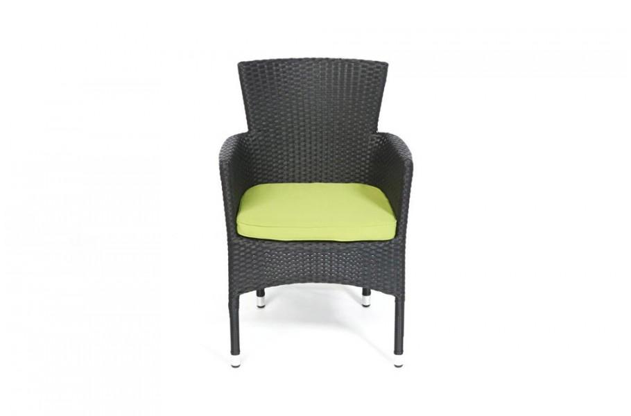 polsterbezug in gr n f r rattan stuhl california. Black Bedroom Furniture Sets. Home Design Ideas