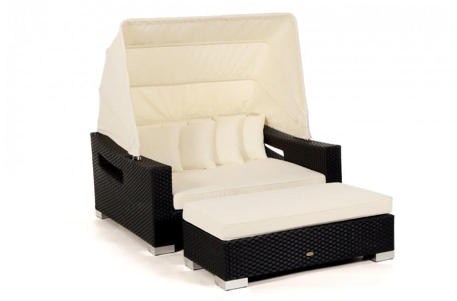 Beach Chair - Der Strandkorb oder die Rattan Sonnenliege für Ihren ...