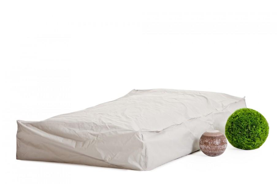 rattan gartenm bel regenschutz f r tosca rattan liege. Black Bedroom Furniture Sets. Home Design Ideas