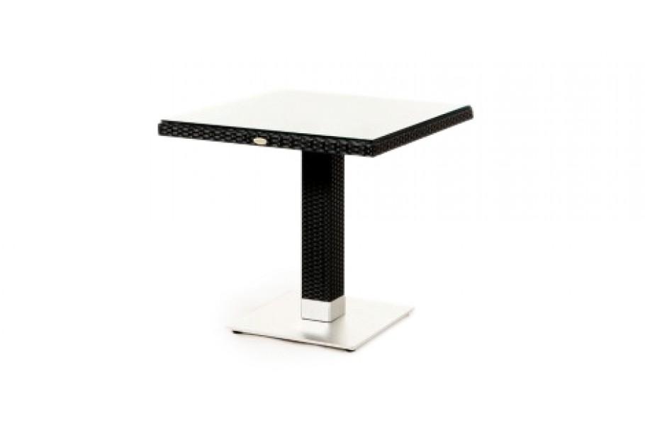 pandora rattan lounge tisch schwarz rattan gartenm bel f r terrasse garten oder balkon. Black Bedroom Furniture Sets. Home Design Ideas