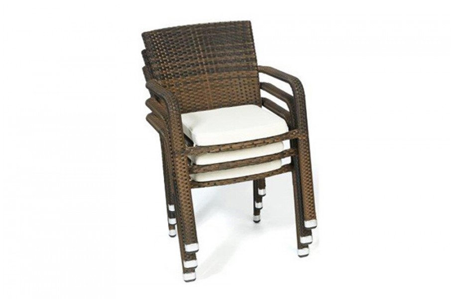 stuhl garten tisch rattan tischset mixed braun. Black Bedroom Furniture Sets. Home Design Ideas