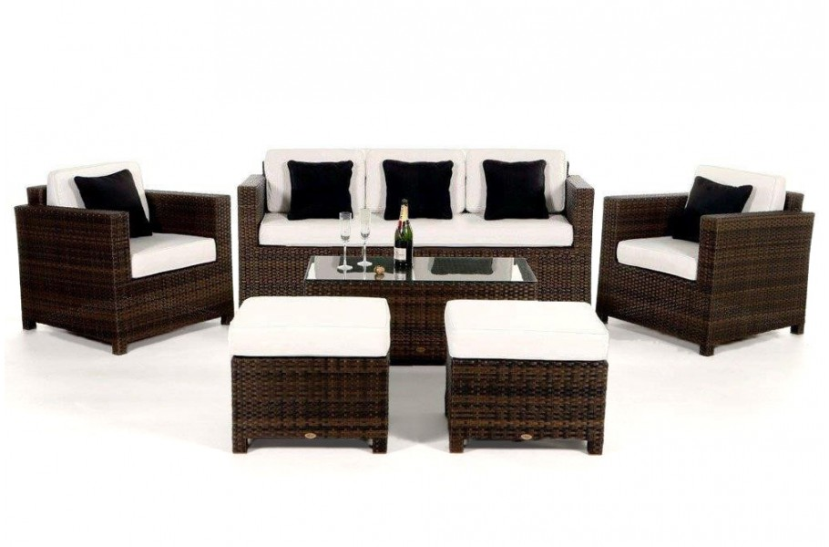 polyrattan lounge braun trendy lounge set polyrattan rattan lounge set medium size of poly. Black Bedroom Furniture Sets. Home Design Ideas