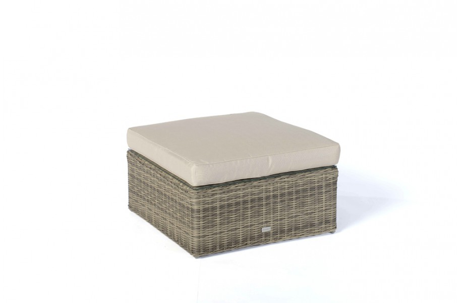 panda rattan lounge natural hocker mit polster. Black Bedroom Furniture Sets. Home Design Ideas