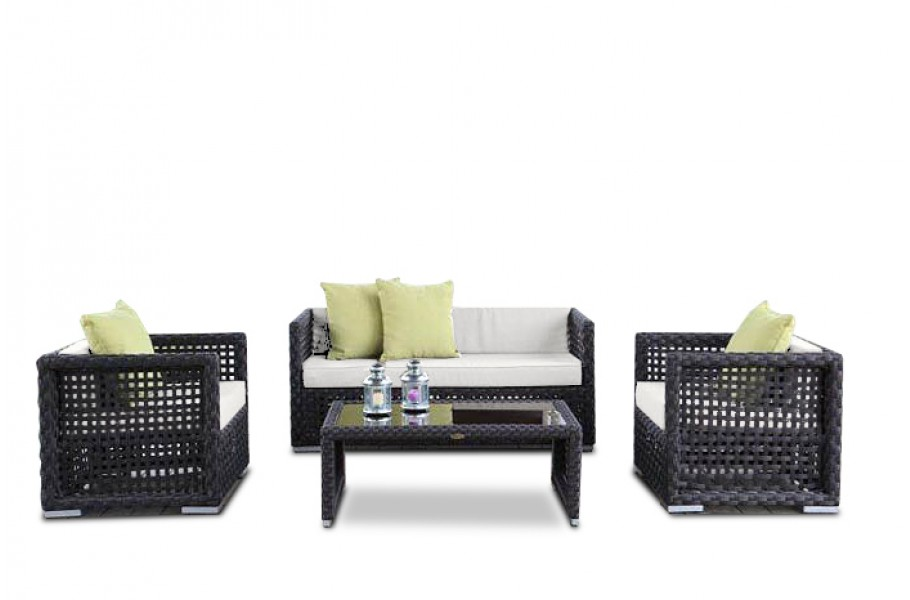 f r das rattan gartenm bel set der morena lounge ist ein. Black Bedroom Furniture Sets. Home Design Ideas
