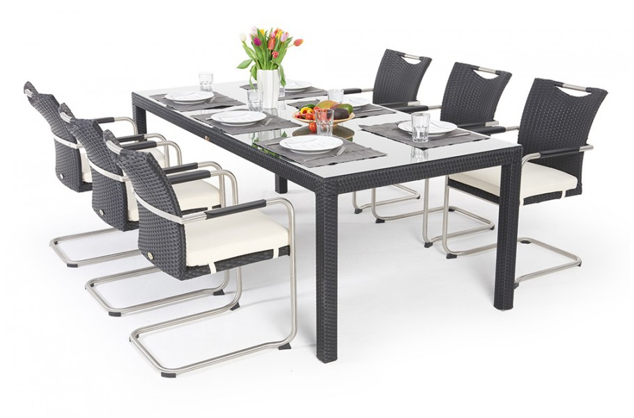 Gartentisch Mit Sechs Stühlen.Rattan Gartentisch Rattan Stuhl Rattan Gartenmöbel