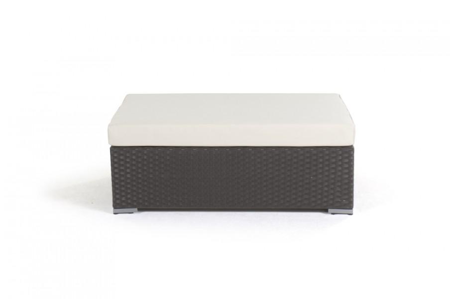 newcastle rattan lounge gartenm bel bank mit polster dunkel braun. Black Bedroom Furniture Sets. Home Design Ideas