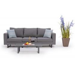 allwetter 2er sofa mit hoher r ckenlehne wasser. Black Bedroom Furniture Sets. Home Design Ideas