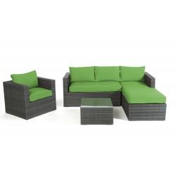 Gartenmöbel set rattan lounge  Rattan Lounge Brooklyn - Das Gartenmöbel Set für Terrasse und Garten