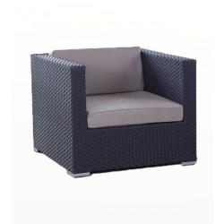 manhattan rattan lounge eckteil braun rattan gartenm bel f r terrasse garten oder balkon. Black Bedroom Furniture Sets. Home Design Ideas
