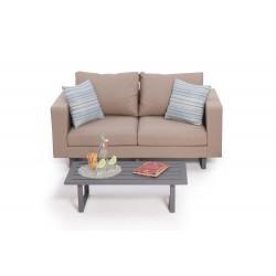 allwetter 3er sofa mit hoher r ckenlehne wasser. Black Bedroom Furniture Sets. Home Design Ideas