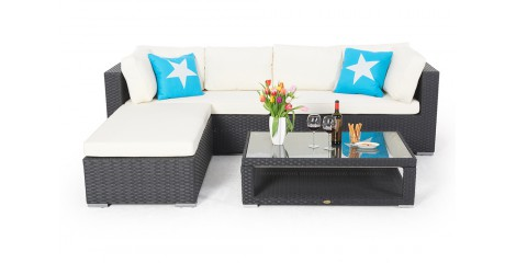 rattan lounge rattanm bel gartenm bel. Black Bedroom Furniture Sets. Home Design Ideas