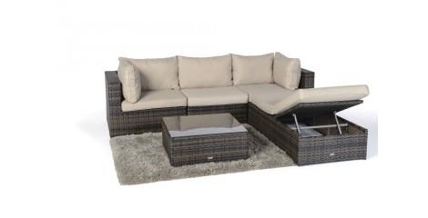 Rattan Gartenmöbel Rattan Lounge Für Den Garten Im Rattan