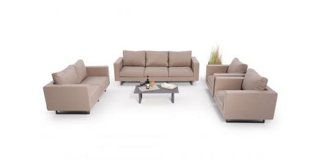 allwetter outdoor lounge sunbrella stoff. Black Bedroom Furniture Sets. Home Design Ideas