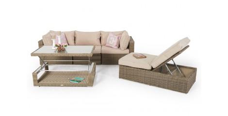 9d2b29a803c08f Lunes Rattan Gartenmöbel Lounge Natural Round. Regulärer Preis  SFr.