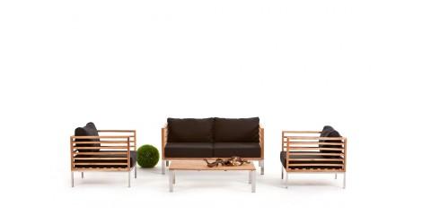 holz gartenm bel holz lounge holzm bel holztisch. Black Bedroom Furniture Sets. Home Design Ideas