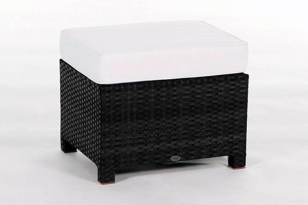 Luxury Deluxe meubles de jardin 3pl lounge noire