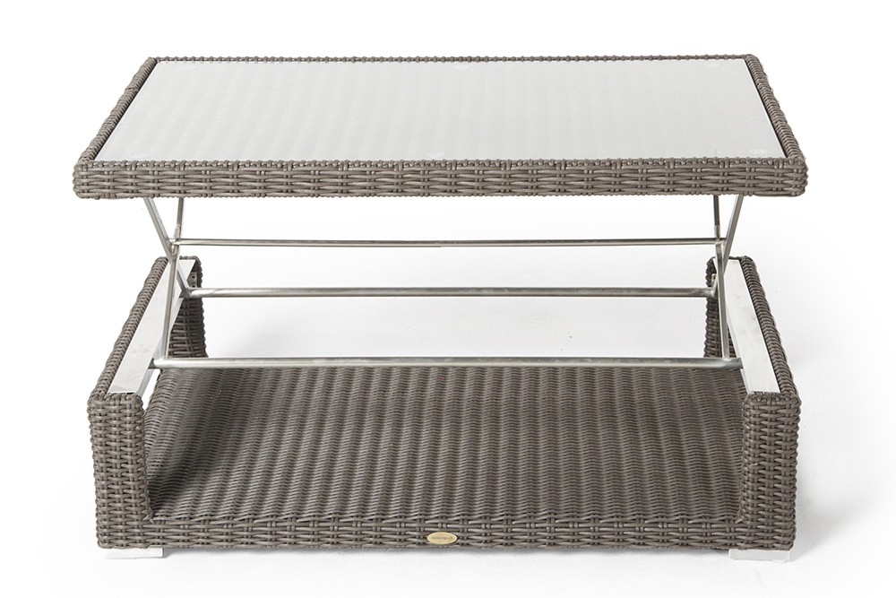Outdoor Furniture With Height Adjustable Table Alicia Brown