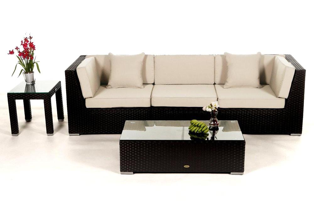 Rattan lounge schwarz  Bellaria Rattan Lounge - rattan garden furniture for your terrace ...