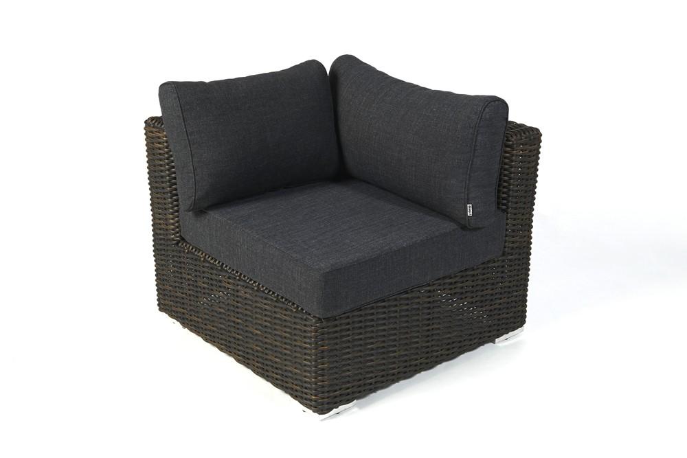 Bolero rattan lounge brown rattan garden furniture for your terrace garden or balcony - Gartenmobel lounge rattan ...