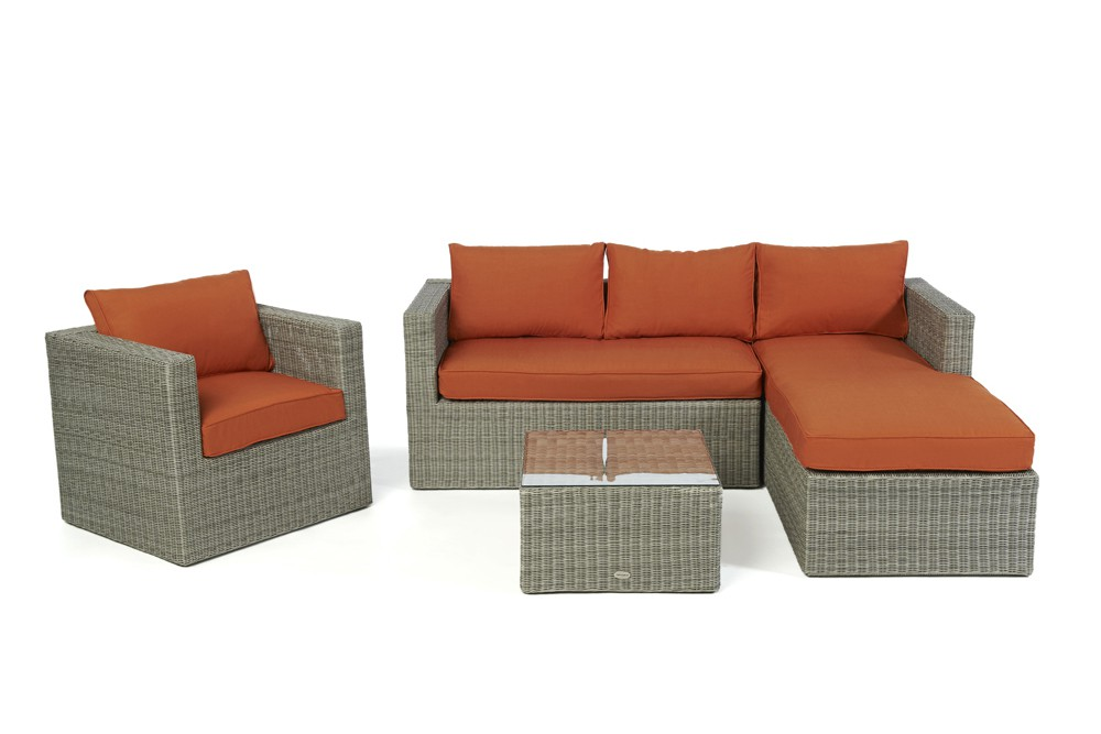 brooklyn rattan lounge - rattan garden furniture - cushion covers, Garten und Bauen
